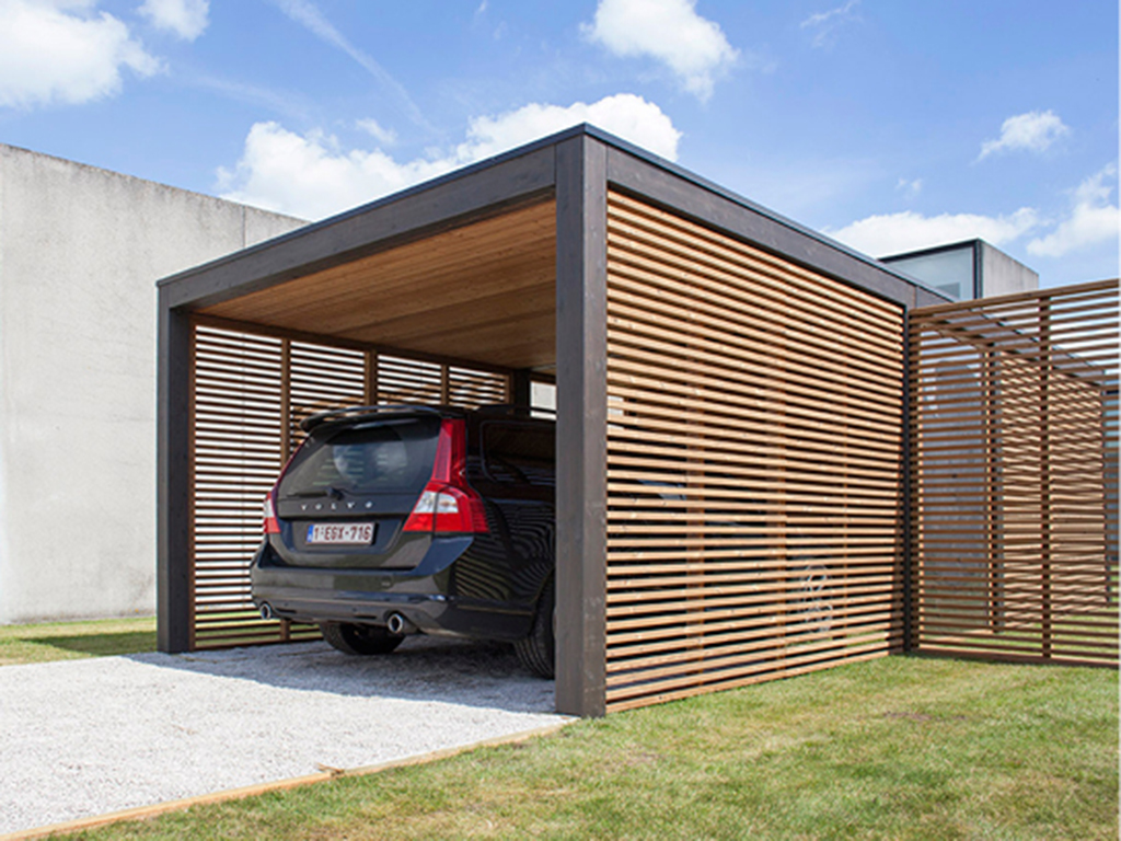 Carports beton van dijck for Carport one